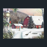 """Alan Giana &quot;Still Light of Dawn&quot; Canvas Print<br><div class=""""desc"""">Be embraced by winter in the country as you walk &quot;In the Still Light of Dawn&quot; by Alan Giana.</div>"""