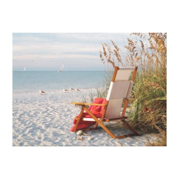 "Beach Themed Alan Giana ""Sunshine Day"" Canvas Print"