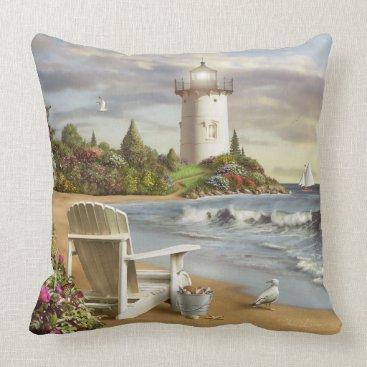 """Alan Giana """"The Perfect Place"""" Pillow"""