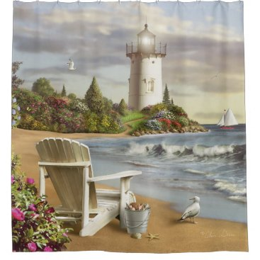 "Alan Giana ""The Perfect Place"" Shower Curtain"