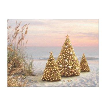 """Beach Themed Alan Giana """"Twilight"""" Canvas Print"""