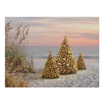 "Beach Themed Alan Giana ""Twilight"" Poster"