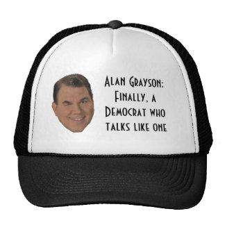 Alan Grayson:  Finally, a Democra... Trucker Hat