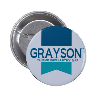 Alan Grayson for President 2012 Pinback Button