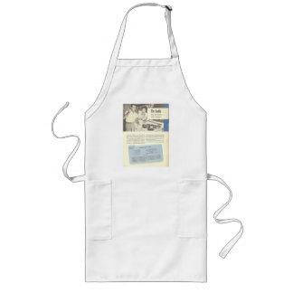 Alan Ladd Hamburger Rodeo vintage recipe Long Apron