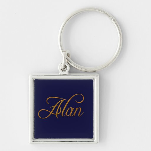 Alan Nombre-Calificó el artículo del regalo Llaveros
