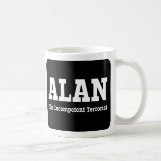 Alan - The Incompetent Terrorist Coffee Mug