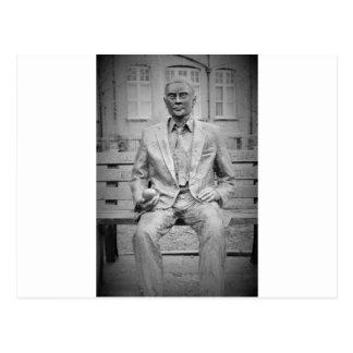 Alan Turing, OBE. The Father of Modern Computing Postcard