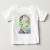 alan watts - watercolor portrait baby T-Shirt
