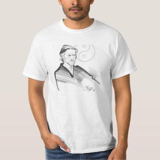 Alan Watts Yin Yang t shirt