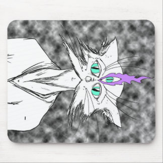 Alan Watts Zen Cat Mouse Pad