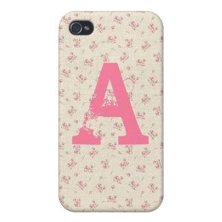 Alana: Beach Rose Print iPhone 4 Case
