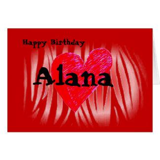 Alana Card
