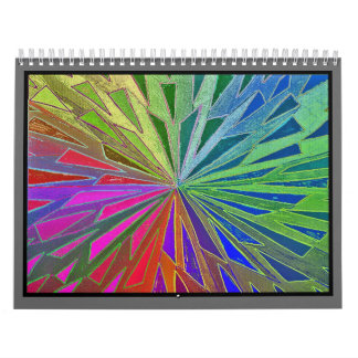 alanart abstract photoshop drawings wall calendar
