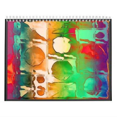 alanart abtract digital calendar 2013
