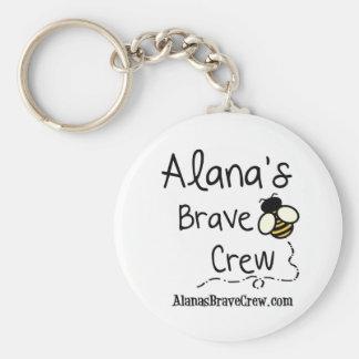 Alana's Brave Crew Keychain