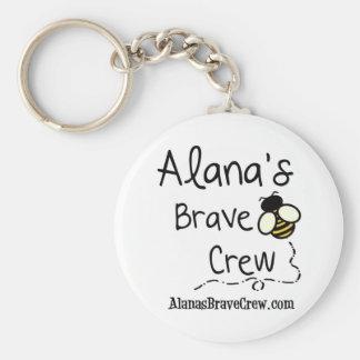 Alana's Brave Crew Keychains