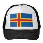 Aland, bandera de Finlandia Gorras De Camionero