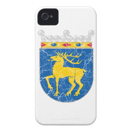 Aland Coat Of Arms Case-Mate Blackberry Case