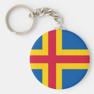 Åland Flag Key Chain