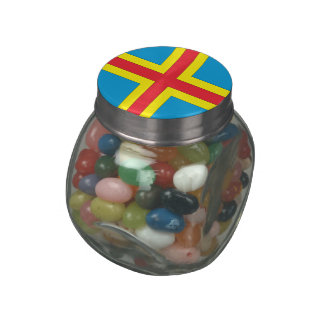 Aland Islands Jelly Belly Candy Jar