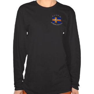 ÅLAND JORDFLAGGAN (ALAND EARTH FLAG) SHIRT