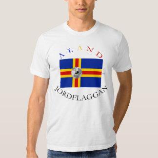 ÅLAND JORDFLAGGAN (ALAND EARTH FLAG) T SHIRT