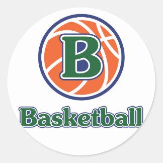 Alander Basketball Classic Round Sticker