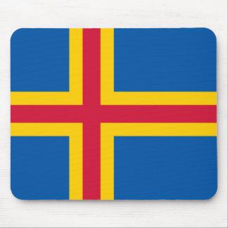 Ålandic flag Mousepad