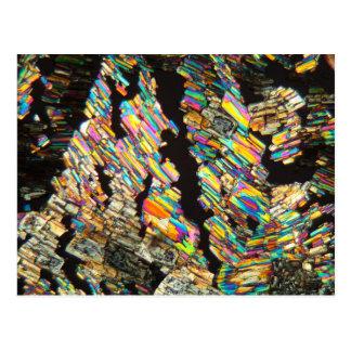 Alanine Amino Acid under a Microscope Postcard