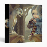 Alannah and the Gargoyle BINDER fairy fantasy goth