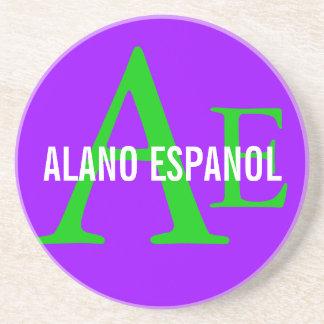Alano Espanol Breed Monogram Coaster