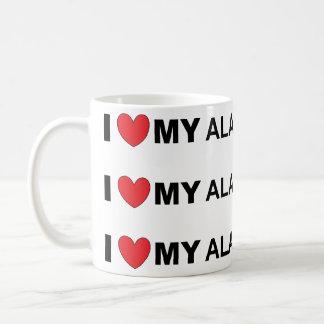 alano love coffee mug