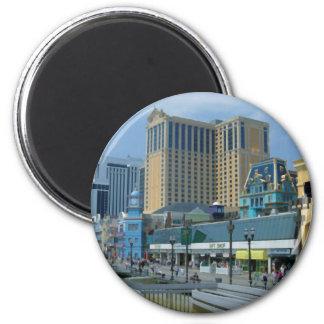 Alantic city 2 inch round magnet