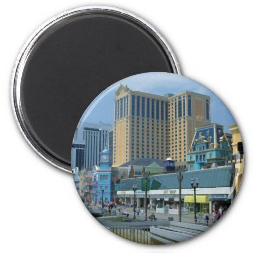 Alantic city refrigerator magnets