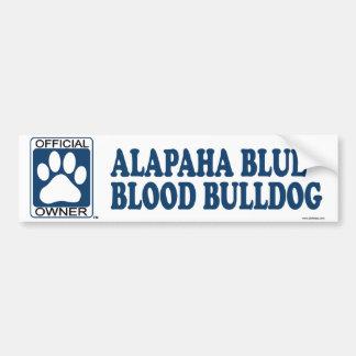 Alapaha Blue Blood Bulldog Blue Bumper Sticker