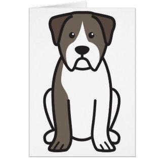 Alapaha Blue Blood Bulldog Dog Cartoon Greeting Card