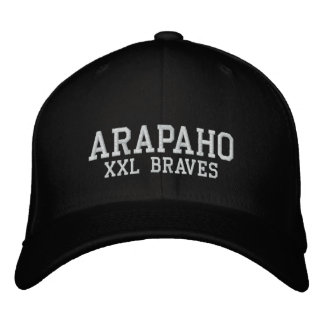 Alapaho XXL Braves Embroidered Baseball Hat