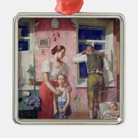 Alarm, 1934 metal ornament