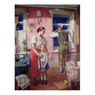 Alarm, 1934 postal