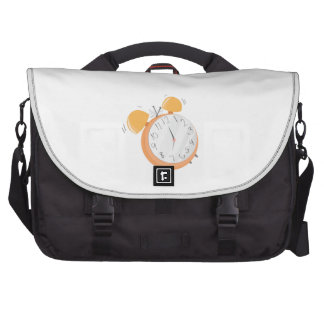 Alarm Clock Laptop Commuter Bag