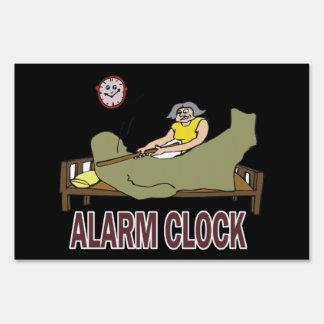 Alarm Clock Sign