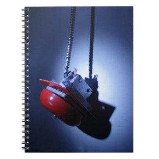 Alarma colgante cuaderno