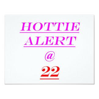Alarma de 22 Hottie Comunicados
