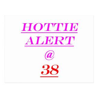 Alarma de 38 Hottie Postales