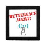 ¡Alarma de Butterface! Periphenalia Cajas De Regalo