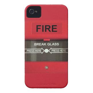 Alarma de incendio carcasa para iPhone 4