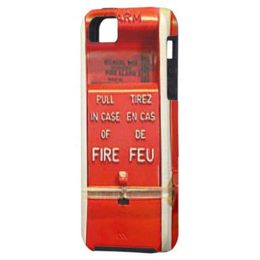 Alarma de incendio iPhone 5 coberturas
