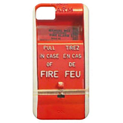 Alarma de incendio iPhone 5 Case-Mate cárcasas