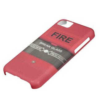 Alarma de incendio funda iPhone 5C
